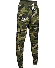 Big Boys Rival Camo-Print Jogger Pants