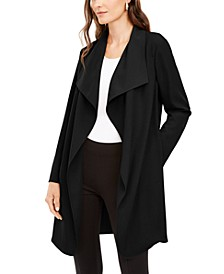 Draped Open-Front Jacket, Created For Macy's