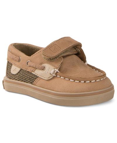 Sperry Kids Bluefish Hook-and-Loop Prewalker Shoes, Baby Boys