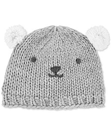 Baby Boys Knit Bear Hat