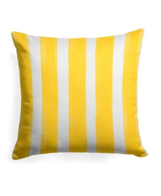 EF Home Decor Indoor/Outdoor Reversible Square Throw Pillow 18