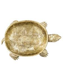 Howard Elliott Gold Turtle Tray