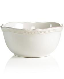 Dinnerware, French Perle Bead White All-Purpose Bowl