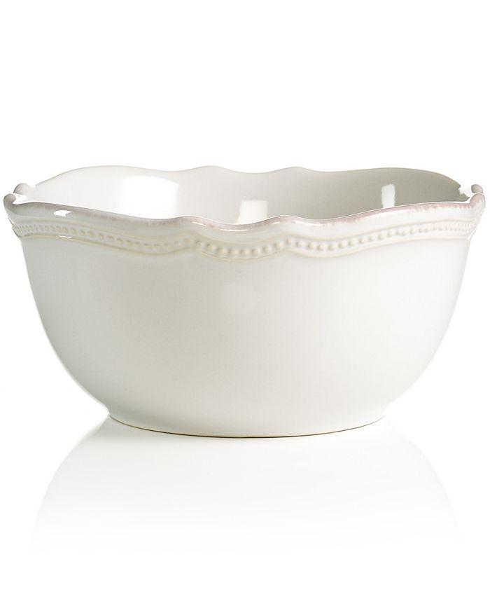Lenox - French Pearl Bead White All-Purpose Bowl