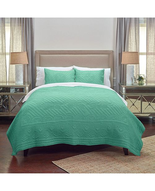 Rizzy Home Riztex USA Moroccan Fling Quilt Collection