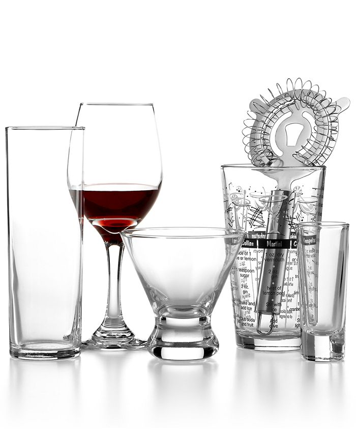 The Cellar - 16-Piece Wine and Bar Set