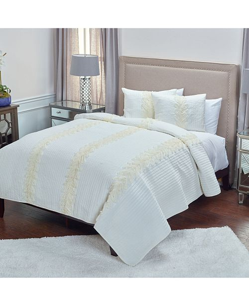 Rizzy Home Riztex USA Adela Queen Quilt