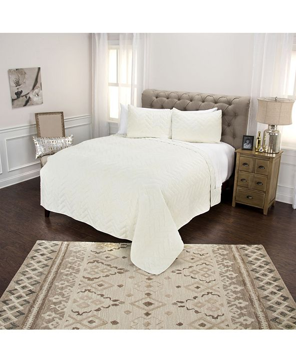 Rizzy Home Riztex USA Riviera Queen Quilt