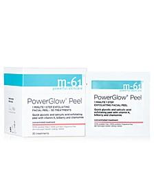 PowerGlow Peel 1 Minute 1-Step Exfoliating Facial Peel – 30 Treatments
