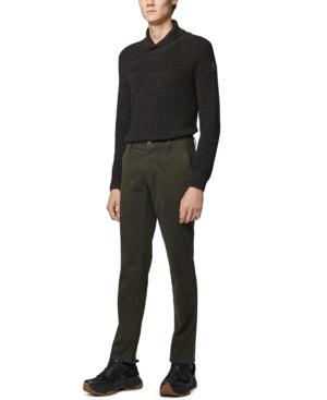 Boss Men's Afairbus Rib-Knit Shawl-Collar Sweater