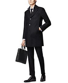 BOSS Men's Nadim4 Slim-Fit Detachable-Bib Coat