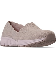 Skechers Women's Seagar-Stat Walking Sneakers from Finish Line