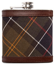 Men's Plaid Hip Flask