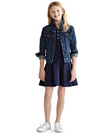 Polo Ralph Lauren Big Girls Denim Trucker Jacket