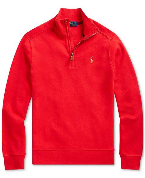 Polo Ralph Lauren Big Boys Interlock Knit Sweatshirt