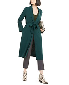 INC Belted Draped Trench Coat, Created for Macy's