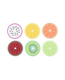 Truezoo Tropical Fruit Drink Lid Coasters