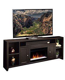 "Urban Loft 84"" Super Fireplace Console"