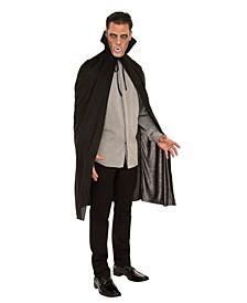 Men's Black Vampire Cape Adult Costume