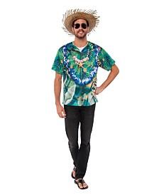 BuySeasons Men's Hawaiian Shirt Adult Costume Top