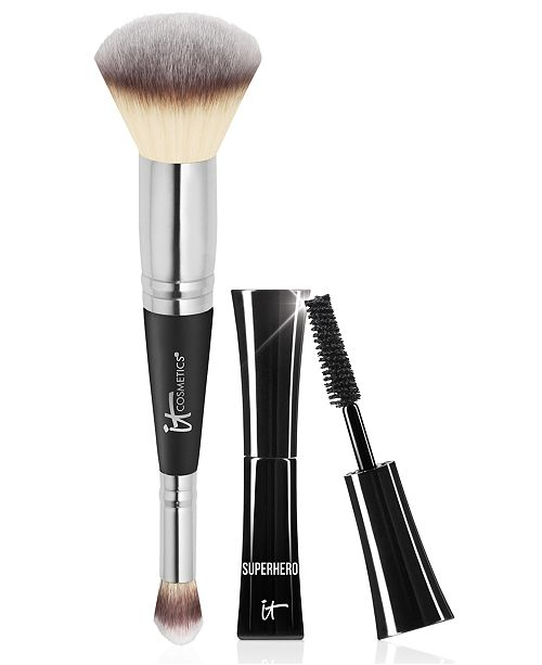 IT Cosmetics Limited Edition It Cosmetics Heavenly Luxe #7 Brush + Trial-Size Superhero Mascara - Only $48.00 with any Beauty Purchase! A $56 Value!