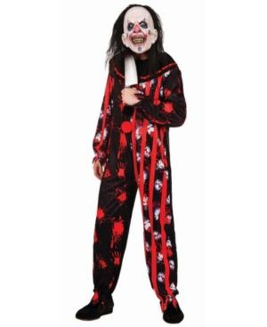 Men's Evil Clown Suit Adult Costume