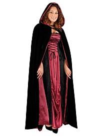 BuySeasons Full Length Wine Cape Adult Costume