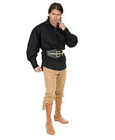 Pirate Black Adult Cotton Shirt