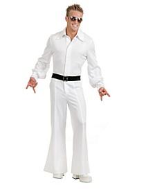 Men's Studio Jumpsuit White Adult Costume