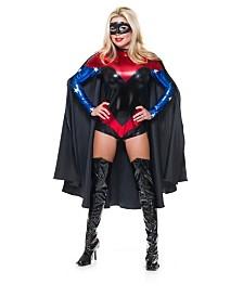 BuySeasons Black Cape Adult Costume