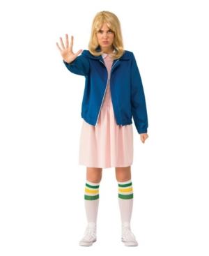 Women's Stranger Things Eleven's Blue Jacket Adult Costume