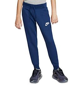 Big Girls Fleece Jogger Pants