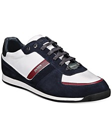 HUGO Men's Glaze Low-Profile Sneakers