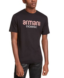 A|X Armani Exchange Men's Logo Graphic T-Shirt Created For Macy's