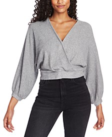 Cross-Front Banded Top