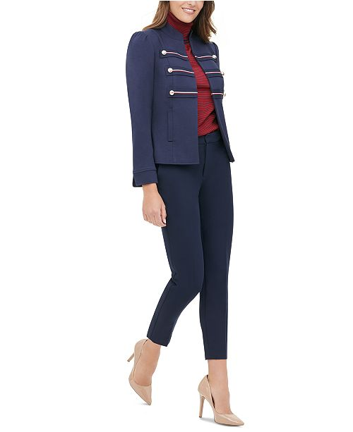Tommy Hilfiger Double-Breasted Blazer & Pants