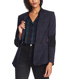 1.STATE Notch-Lapel Blazer