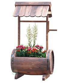 Gardenised Barrel Well Planter