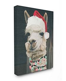 Christmas Llama Art Collection