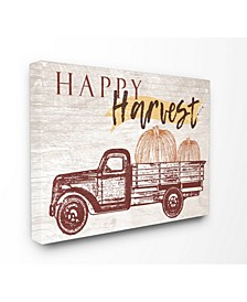 Happy Harvest Giant Pumpkin Truck Art Collection