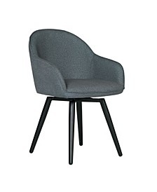 Dome Swivel Arm Chair