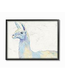 "Ophelia The Llama Framed Giclee Art, 11"" x 14"""