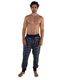 Flannel Jogger Lounge Pant with Draw String