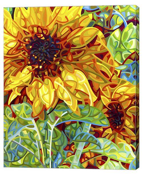 "Metaverse Summer in The Garden by Mandy Budan Canvas Art, 28.75"" x 36"""