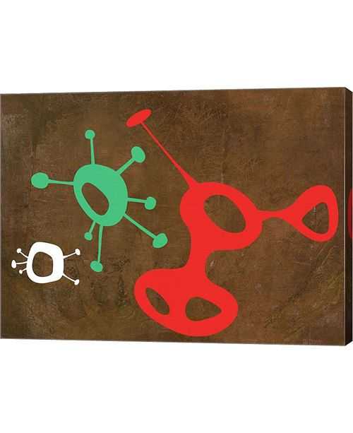 "Metaverse Abstract Splash Theme 3 by Naxart Canvas Art, 26.5"" x 20"""