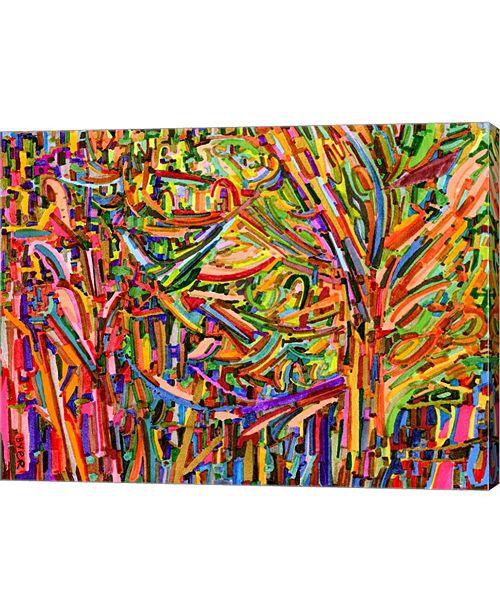 """Metaverse Evergreens by Josh Byer Canvas Art, 26.5"""" x 20"""""""