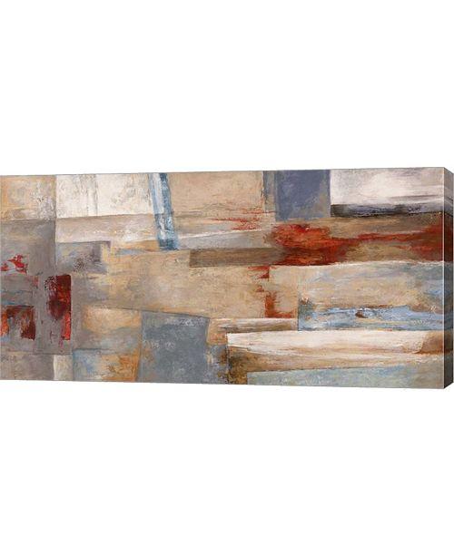 """Metaverse Sogni E Onde by Leonardo Bacci Canvas Art, 32"""" x 16"""""""