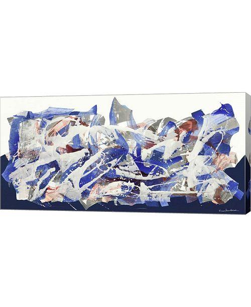 "Metaverse Senza Titolo 2012, II by Nino Mustica Canvas Art, 32"" x 16"""