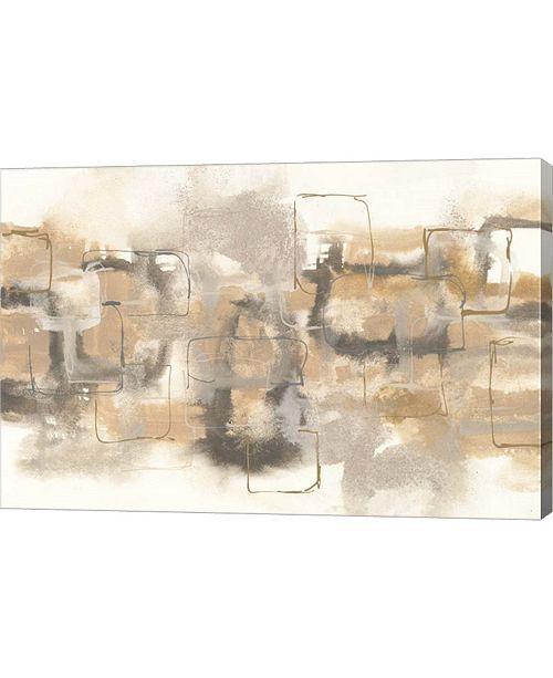 """Metaverse Platinum Neutrals II by Chris Paschke Canvas Art, 30"""" x 20"""""""