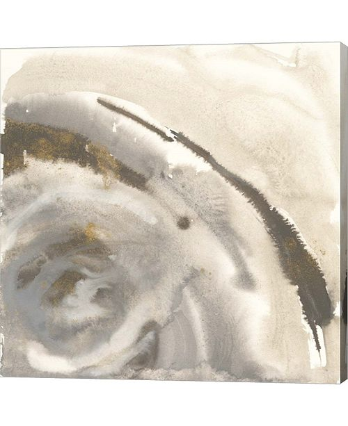 "Metaverse Gold Dust Nebula I by Chris Paschke Canvas Art, 23.75"" x 24"""